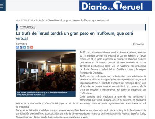 La Trufa de Teruel también en #Trufforum2021